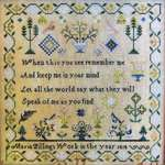 Click for more details of Maria Pillings 1818 (cross stitch) by The Scarlett House