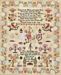 Click for more details of Mary Ann Diaper 1826 (cross stitch) by Hands Across the Sea Samplers