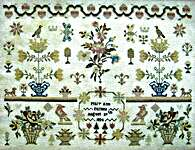 Click for more details of Mary Ann Farmer 1834 (cross stitch) by The Scarlett House