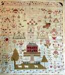 Click for more details of Mary Barres Sampler (cross stitch) by Stacy Nash Primitives