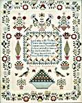 Click for more details of Mary Lock 1832 (cross stitch) by Hands Across the Sea Samplers