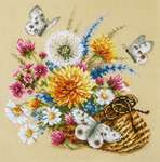 Click for more details of Meadow Flowers (cross stitch) by Magic Needle
