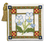 Click for more details of Medieval Garden Needlecase (cross stitch) by Textile Heritage