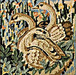 Click for more details of Medieval Swans (tapestry kit) by Glorafilia