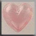 Click for more details of Medium Quartz Heart (beads and treasures) by Mill Hill