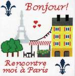 Click for more details of Meet Me in Paris (cross stitch) by Imaginating