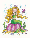 Click for more details of Mermaid (cross stitch) by Karen Carter