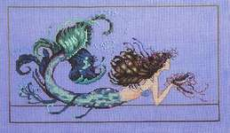 Click for more details of Mermaid Undine (cross stitch) by Mirabilia Designs