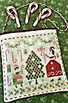 Click for more details of Merry and Bright (cross stitch) by Pineberry Lane