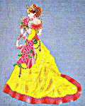 Click for more details of Milady of Spring (cross-stitch pattern) by Cross Stitching Art