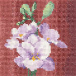 Click for more details of Mini Freesia (cross-stitch kit) by John Clayton
