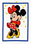 Click for more details of Minnie Mouse (cross stitch) by Disney by Vervaco