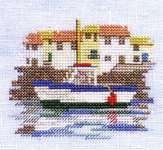 Click for more details of Minuets - Harbour (cross-stitch kit) by Rose Swalwell