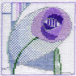 Click for more details of Minuets - Rose Aurora (cross stitch) by Rose Swalwell