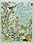 Click for more details of Miracles Happen (cross stitch) by Stoney Creek