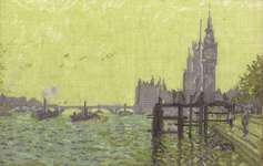 Click for more details of Monet - The Thames Below Westminster (cross stitch) by DMC Creative