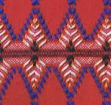 Click for more details of Monk's Cloth Afghans for Christmas (swedish weaving pattern) by Annie's Attic