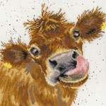Click for more details of Moo (cross stitch) by Bothy Threads