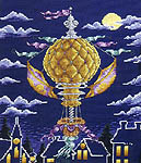 Click for more details of Moonlight Flight (cross-stitch pattern) by StitchWorld