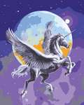 Click for more details of Moonlight Pegasus (tapestry) by Grafitec