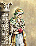 Click for more details of Moorish Woman (cross-stitch kit) by Lanarte