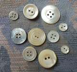 Click for more details of Mother of Pearl Buttons (buttons and brads) by Elizabeth Grace