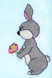 Click for more details of Mother's Day Card (cross stitch) by Anne Peden