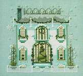 Click for more details of Mr Darby's House (cross stitch) by Nora Corbett