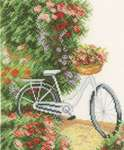 Click for more details of My Bicycle (cross-stitch kit) by Lanarte