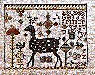 Click for more details of My Deer (cross stitch) by Hands to Work