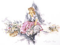 Click for more details of My Fair Lady (cross-stitch pattern) by Lanarte