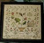 Click for more details of My Heart Can Rest (cross stitch) by Blackbird Designs