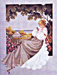 Click for more details of Nantucket Rose (cross stitch) by Lavender & Lace