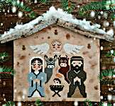 Click for more details of Nativity (cross stitch) by Fairy Wool in The Wood