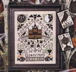 Click for more details of Nevermore (cross stitch) by The Prairie Schooler