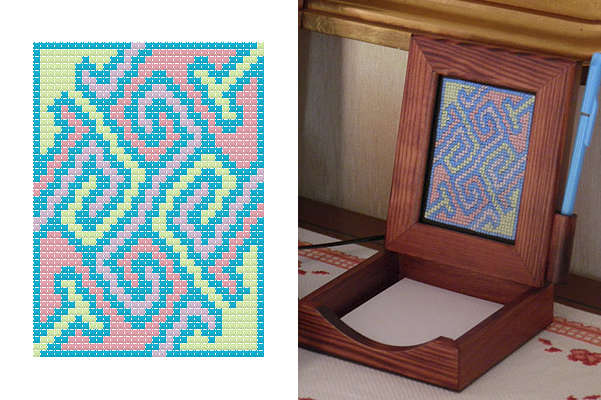Click for more details of Nigg Block-Notes (digital downloads pattern) by EolasNanSul