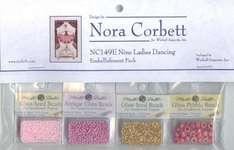 Click for more details of Nine Ladies Dancing Embellishment Pack (beads and treasures) by Nora Corbett