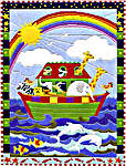 Click for more details of Noah's Ark (long-stitch) by Anchor