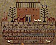 Click for more details of Noah's Ark Sampler (cross stitch) by The City Stitcher