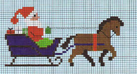 Click for more details of Noel (cross stitch) by Permin of Copenhagen