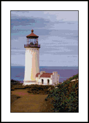Click for more details of North Head Lighthouse  (cross-stitch pattern) by Mary Gaines