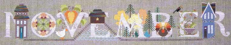Click for more details of November (cross stitch) by The Cross-Eyed Cricket