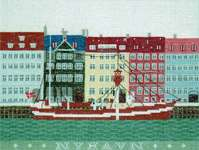 Click for more details of Nyhavn (cross stitch) by Haandarbejdets Fremme