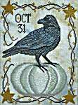 Click for more details of Oct 31 (cross stitch) by Cottage Garden Samplings