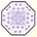 Click for more details of Octagon Knot (blackwork) by Classic Embroidery
