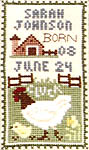 Click for more details of Old Macdonald (cross-stitch pattern) by The Prairie Schooler