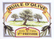 Click for more details of Olive Oil (cross-stitch kit) by Royal Paris