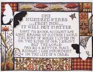 Click for more details of One Hundred Years (cross stitch) by Stoney Creek