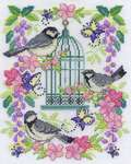 Click for more details of Oriental Birdcage (cross stitch) by DMC Creative