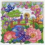 Click for more details of Oriental Landscape (cross stitch) by DMC Creative